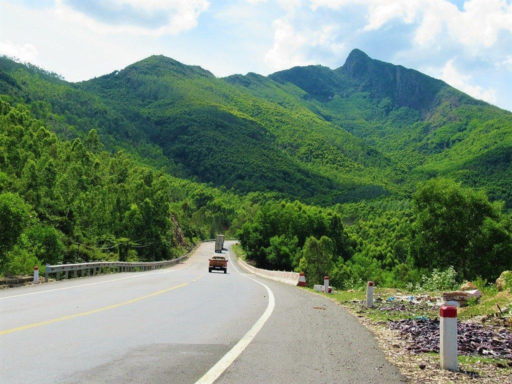 Coastal Highway QL1D, Phu Yen Province, Vietnam