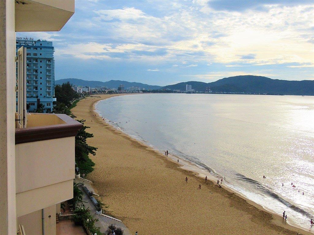 View of Quy Nhon beach, Binh Dinh, Vietnam