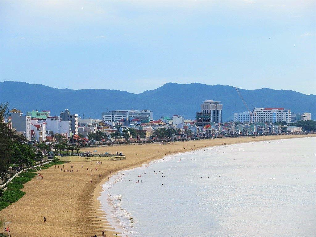 Quy Nhon beach, Binh Dinh Province, Vietnam