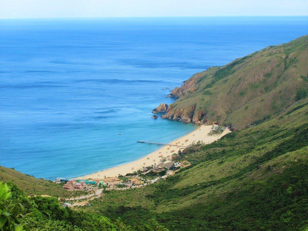 Ky Co beach, Phuong Mai Peninsular, Quy Nhon, Vietnam