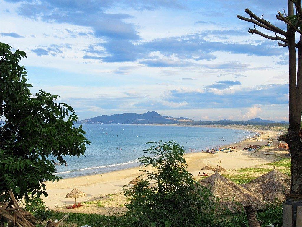 Trung Luong beach, Quy Nhon, Binh Dinh, Vietnam