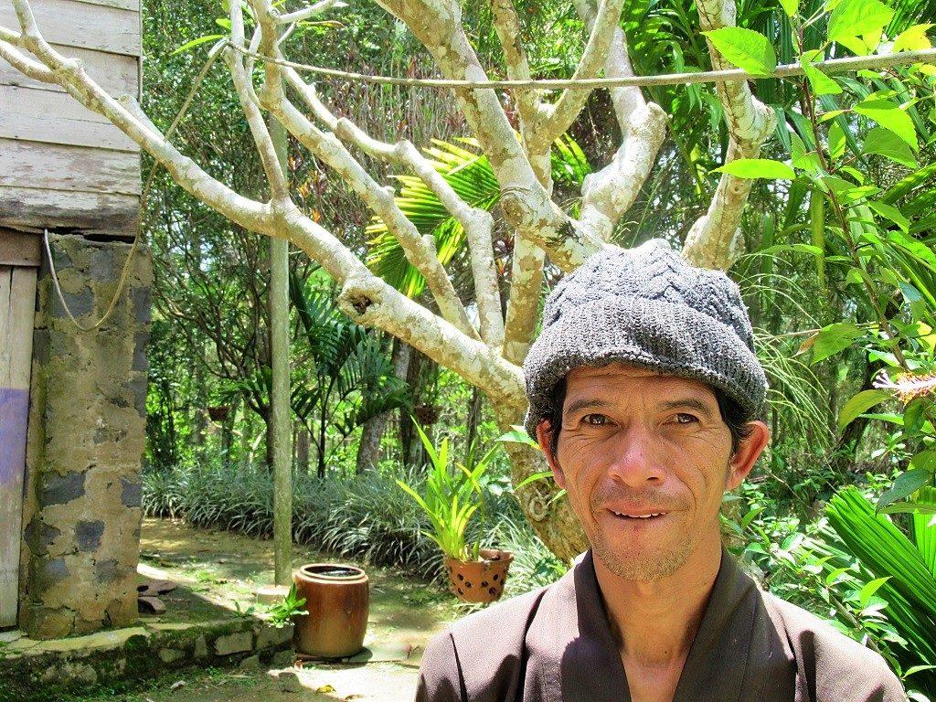 Mr Yen at Phuong Boi, Thich Nhat Hanh's retreat, Vietnam