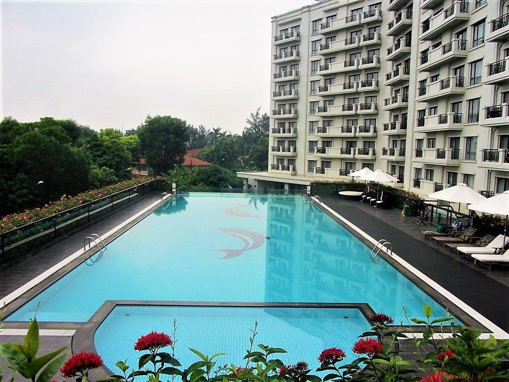 Swimming pool, Elegant Suites Westlake, Hanoi