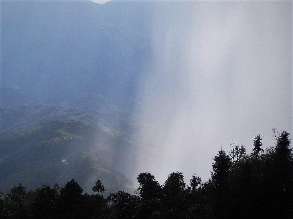 Rain, cloud, mist, Lai Chau Province, northwest Vietnam