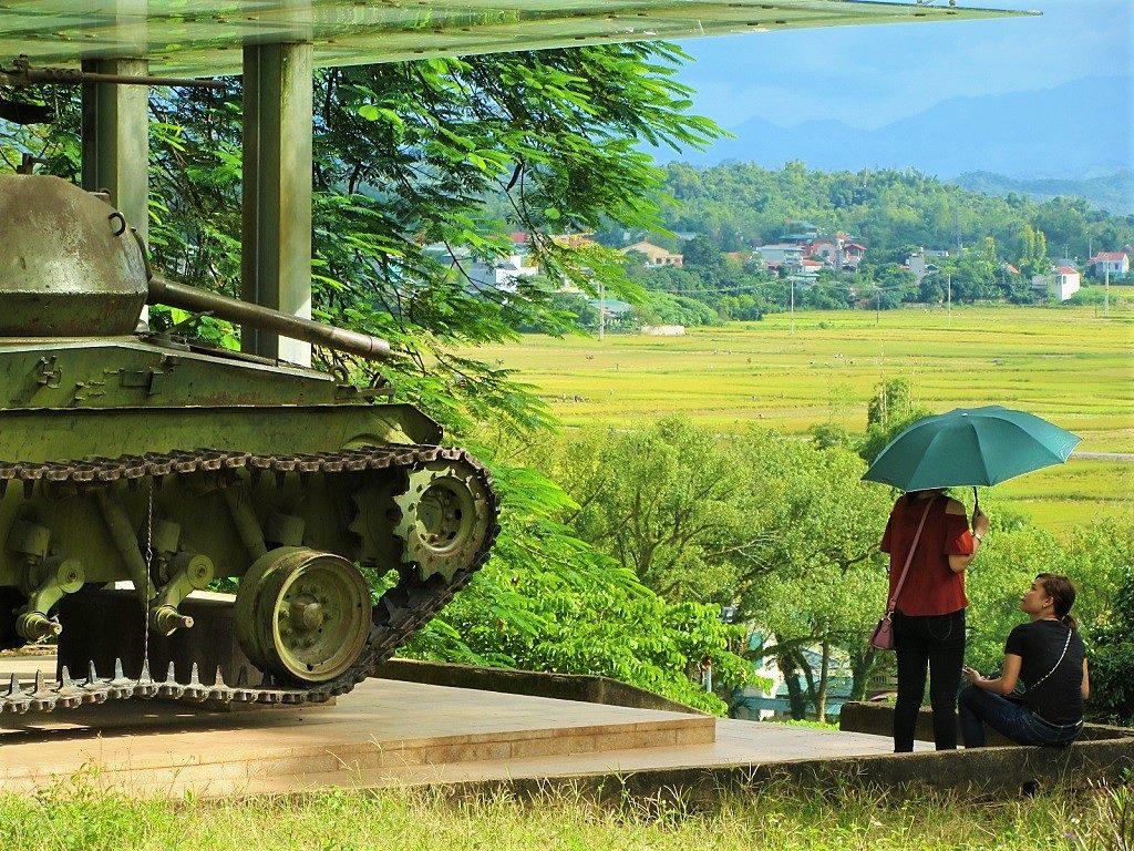 A1 Hill, Dien Bien Phu, northwest Vietnam