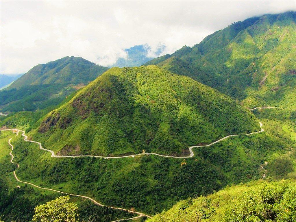 O Quy Ho (Tram Ton) Pass, Lai Cai Province, northwest Vietnam