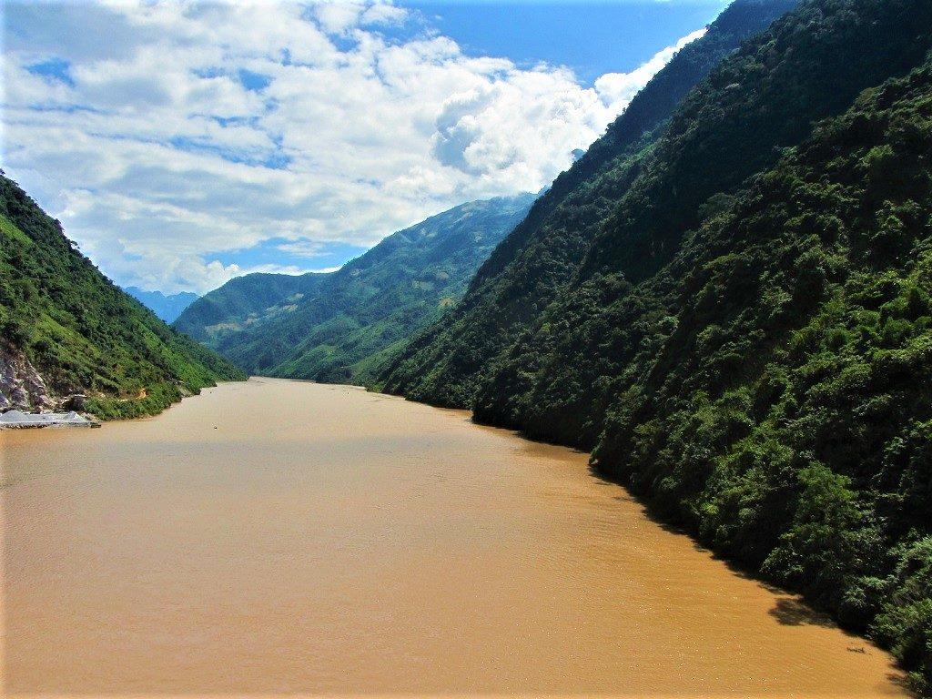 The Black River, Dien Bien Province, northwest Vietnam