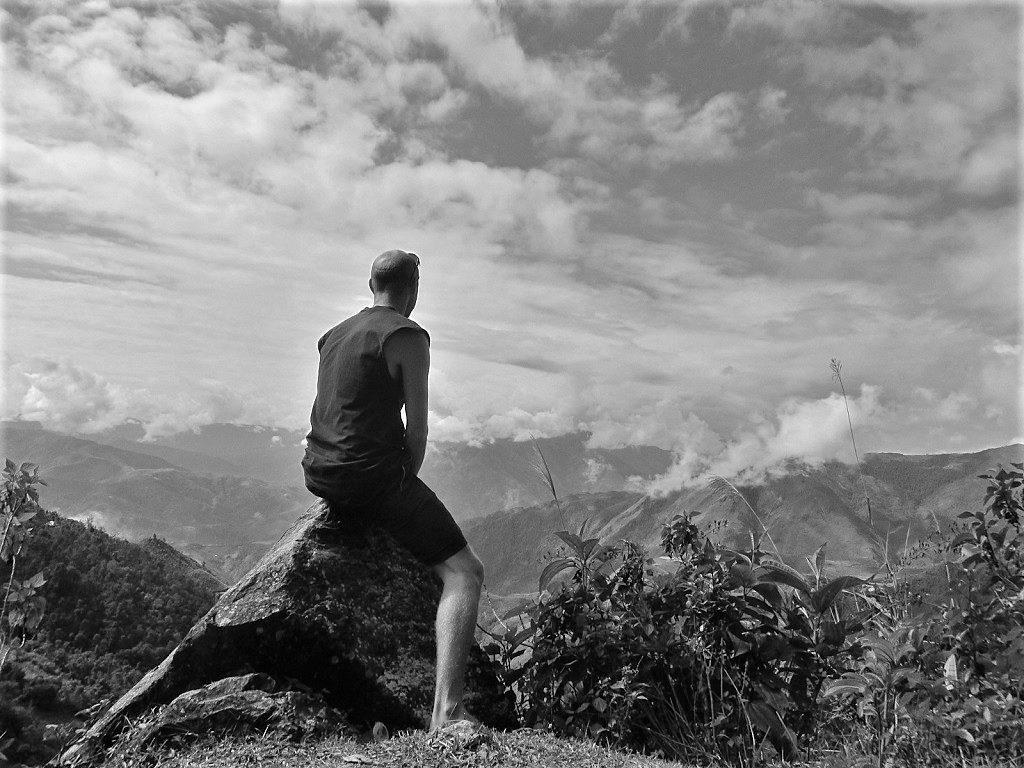 Mountaintop, Lai Chau Province, northwest Vietnam