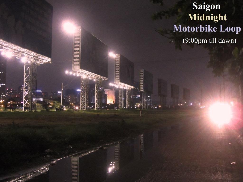 Midnight Motorbike Loop, Saigon