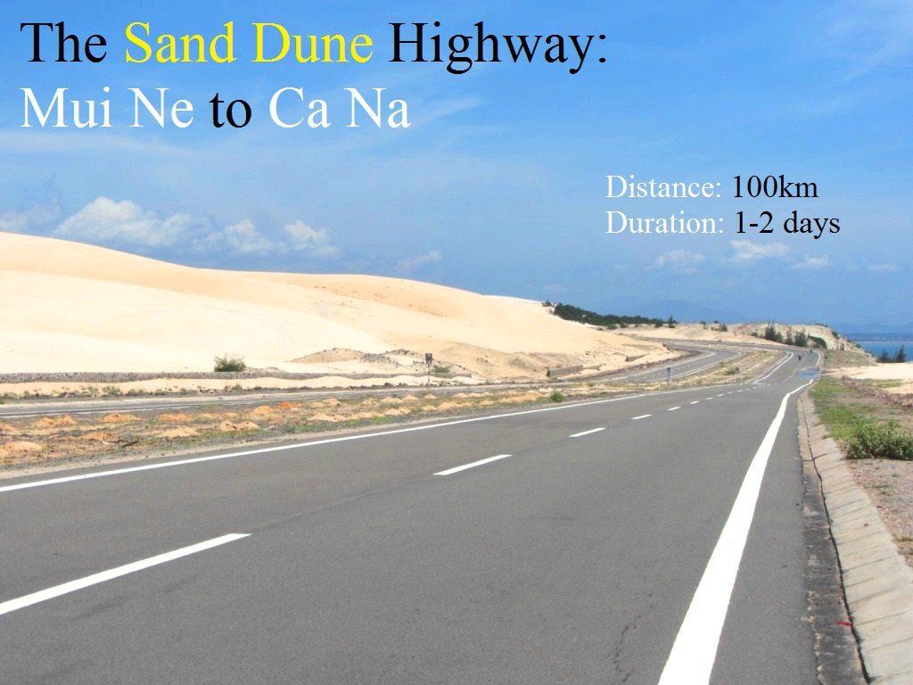 The Sand Dune Highway, Mui Ne to Ca Na, Vietnam