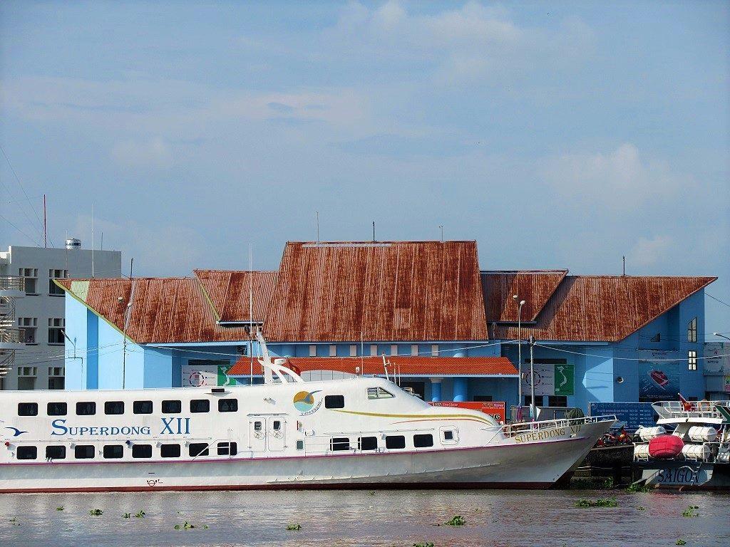 Rach Gia Port, Mekong Delta, Vietam
