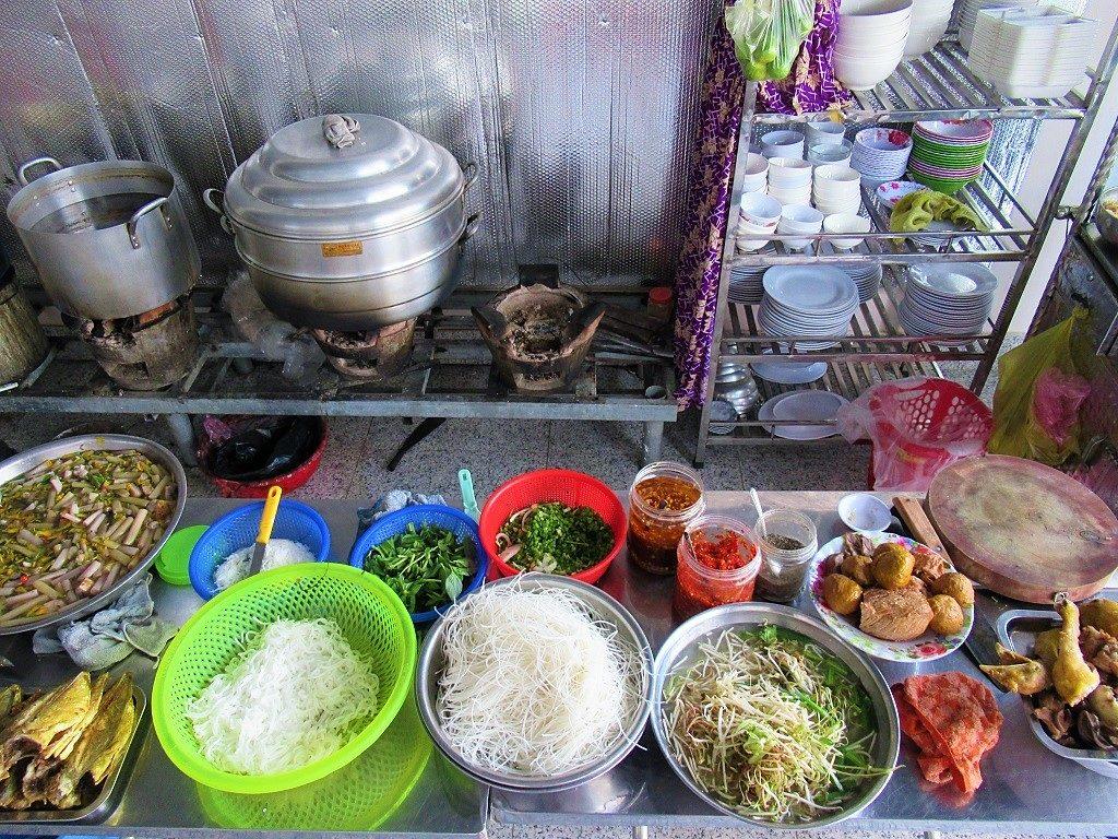 Food and drink on Nam Du Islands, Vietnam