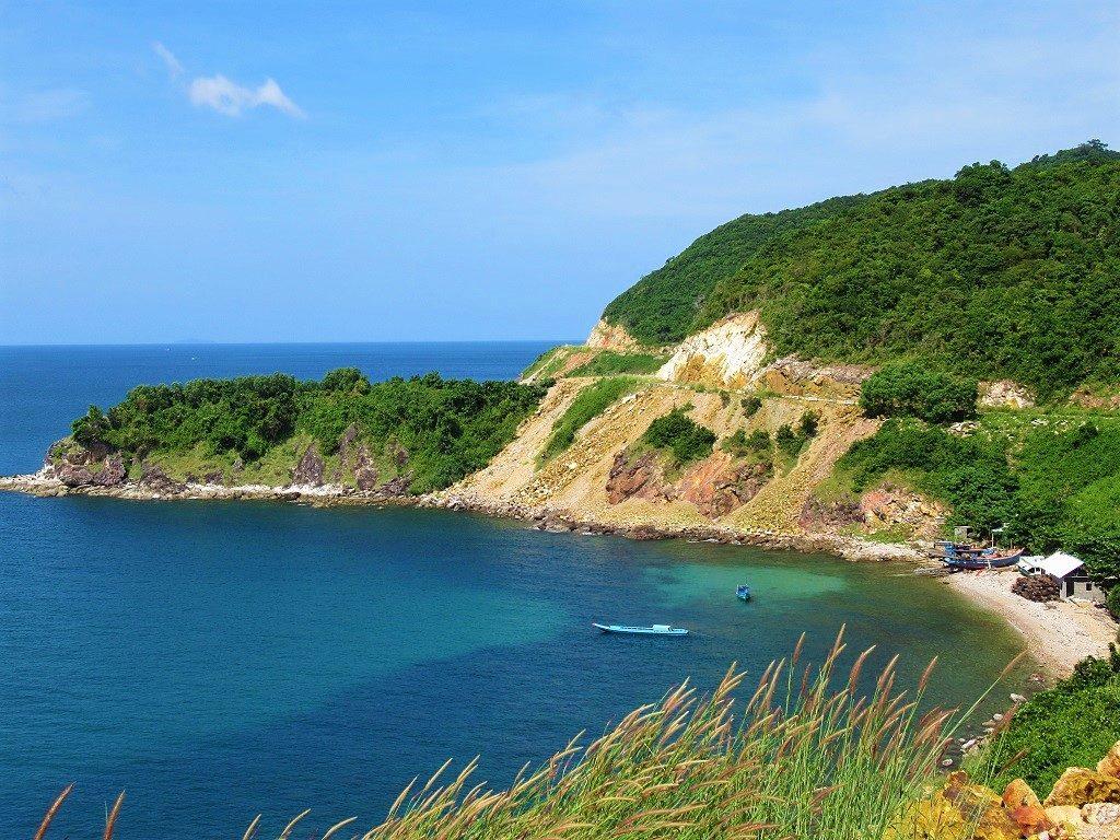 The west coast of Nam Du Island, Vietnam