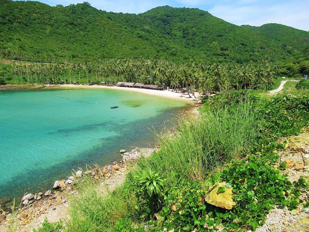 Bai Cay Men Beach, Nam Du Island, Vietnam