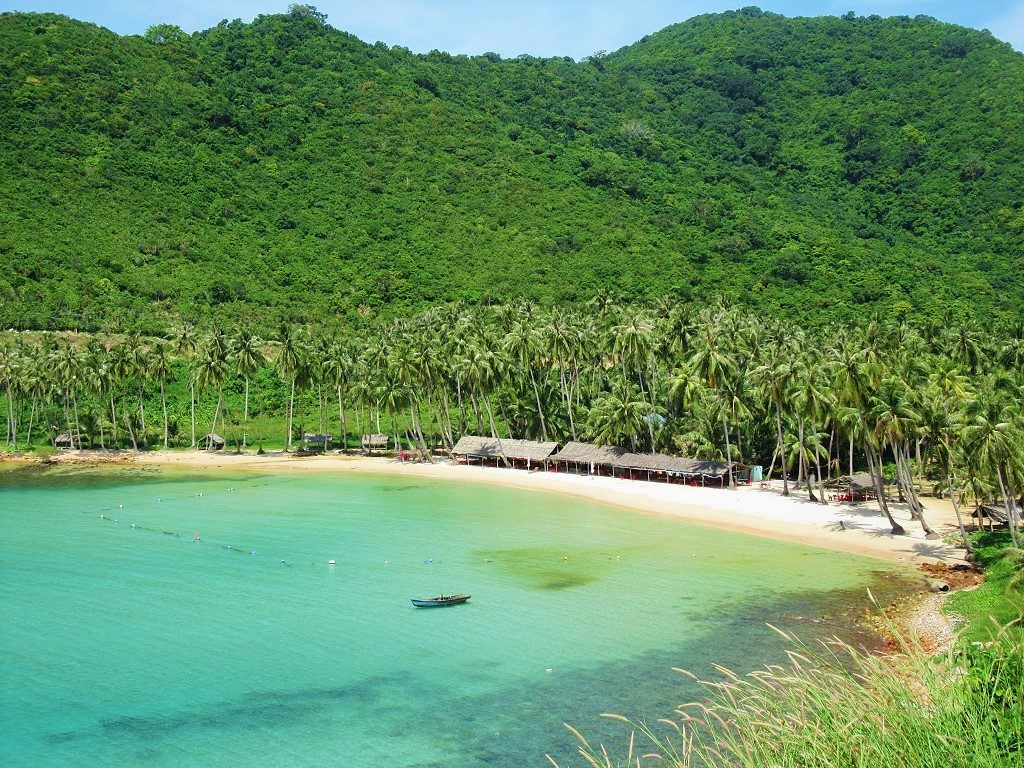 Another sunny day on the Nam Du Islands, Vietnam
