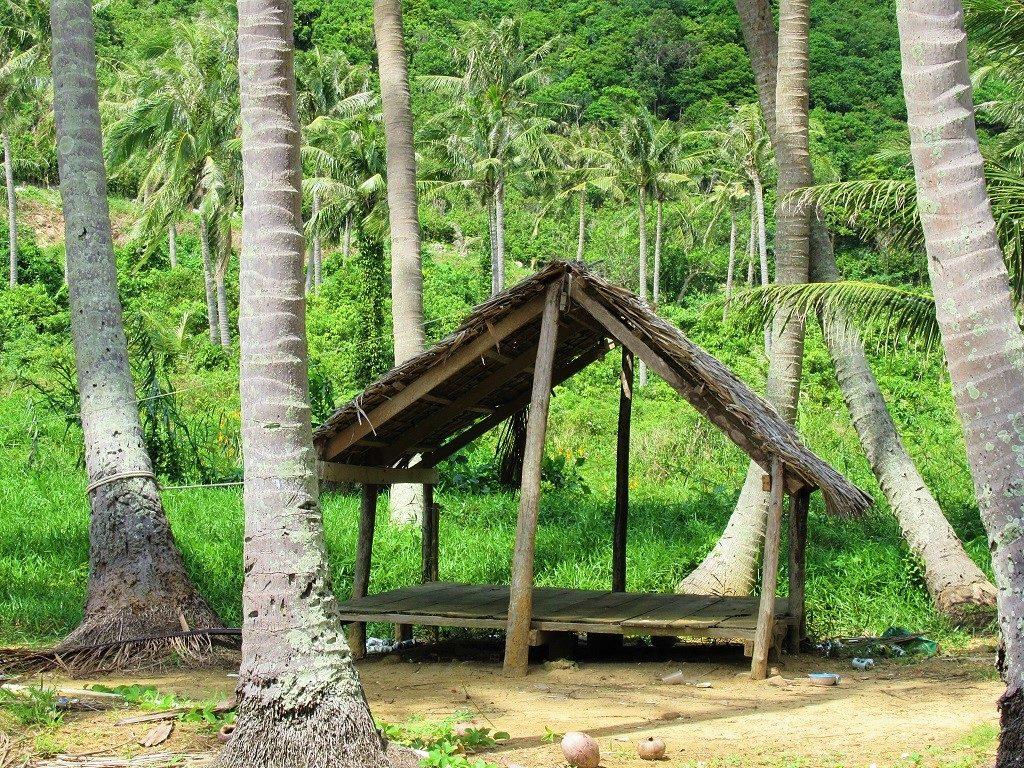 Camping on Bai Cay Men Beach, Nam Du Island, Vietnam