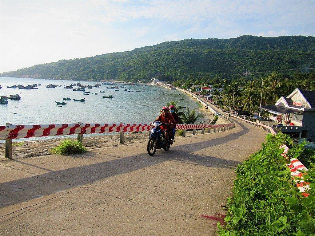 Lai Son town, Hon Son Island, Vietnam