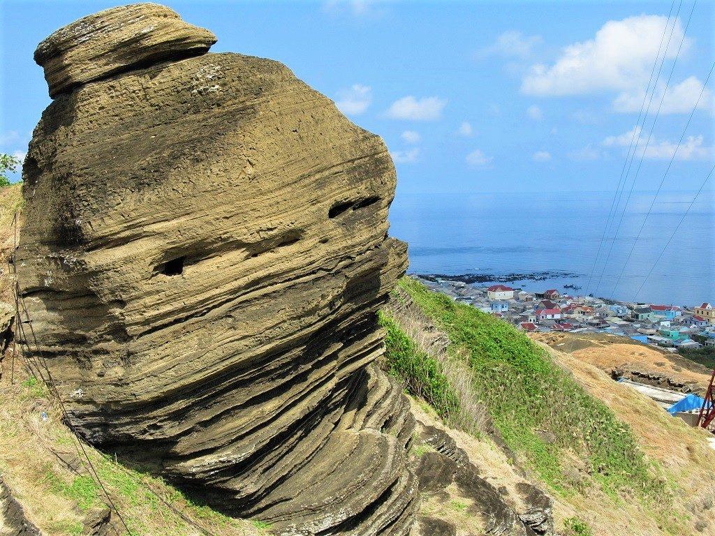 Rock formations, Phu Quy Island, Vietnam