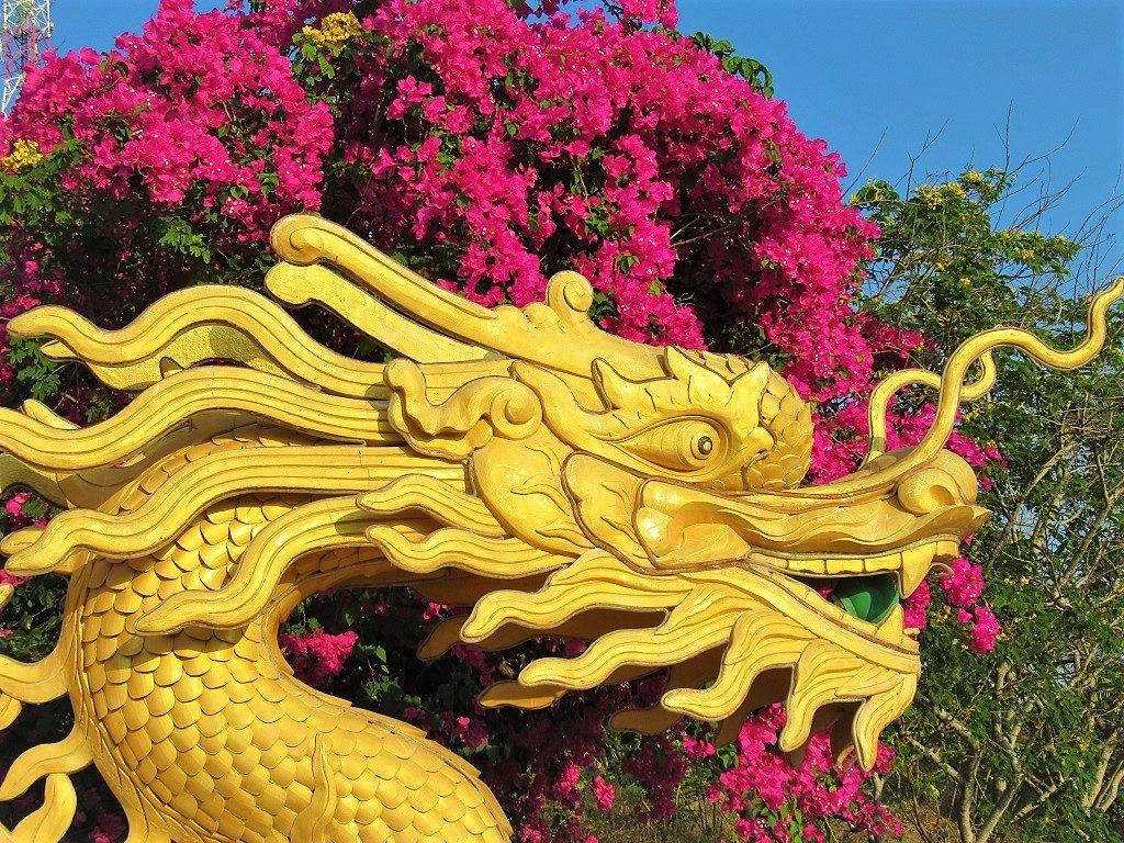 Chua Linh Son Pagoda, Phu Quy Island, Vietnam