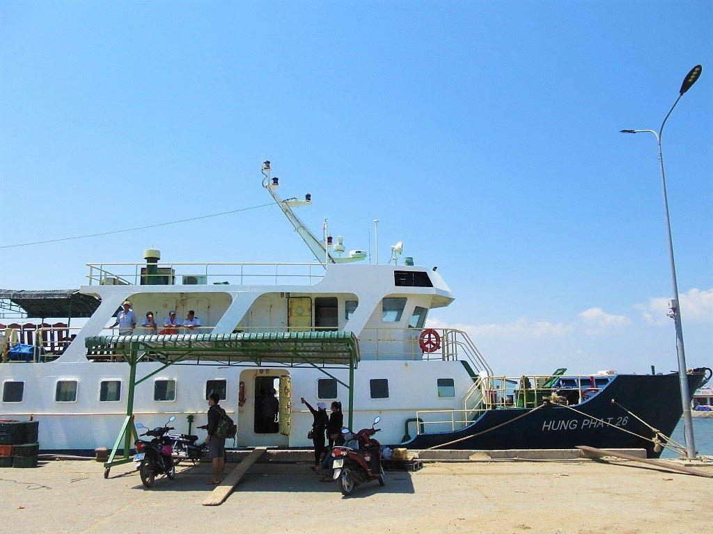 Hung Phat ferry to Phu Quy Island