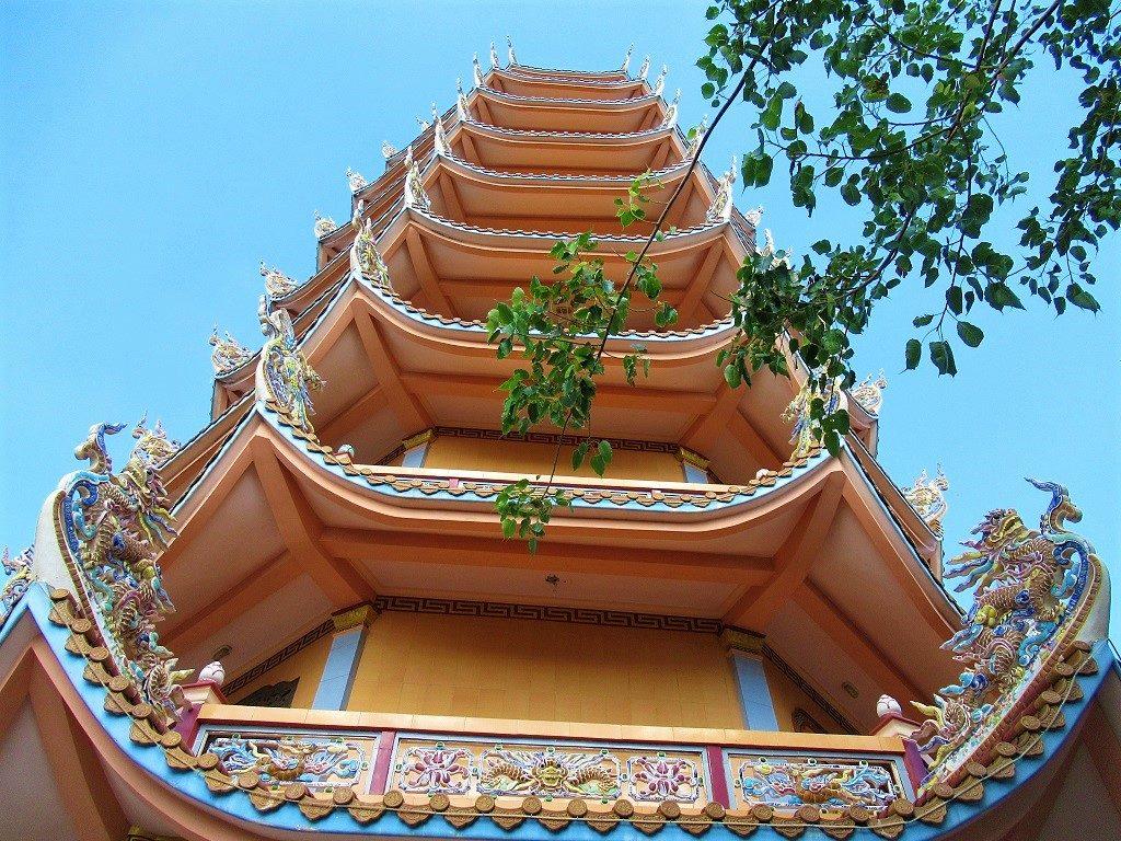 Chua Linh Quang Pagoda, Phu Quy Island, Vietnam