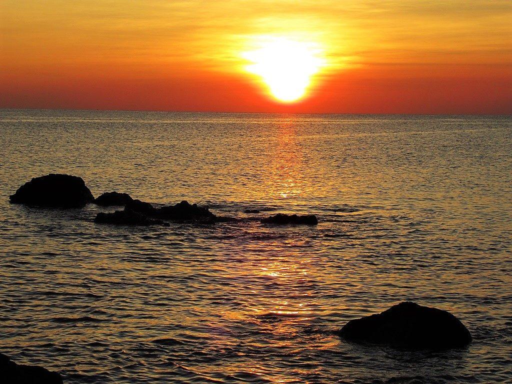 Sunset on Phu Quy Island, Binh Thuan Province, Vietnam