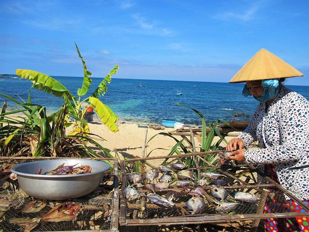 Seafood, Phu Quy Island, Vietnam