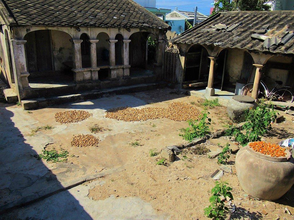 Old houses, Dong Hai Hamlet, Phu Quy Island, Vietnam