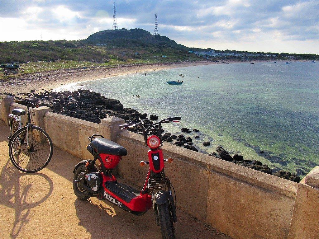 Transport on Phu Quy Island, Vietnam