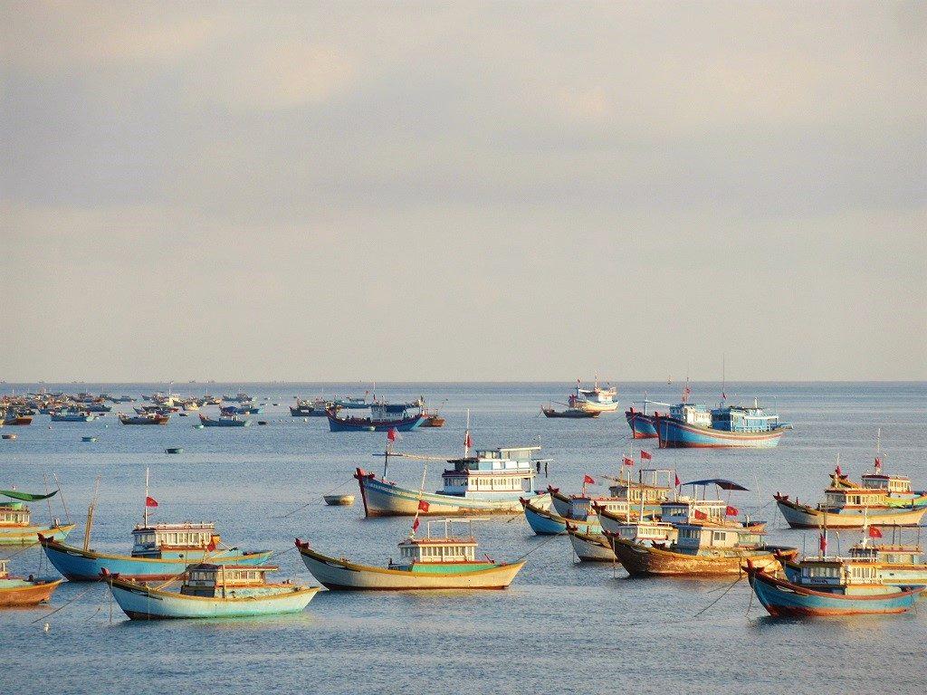 The northwest of Phu Quy Island, Vietnam