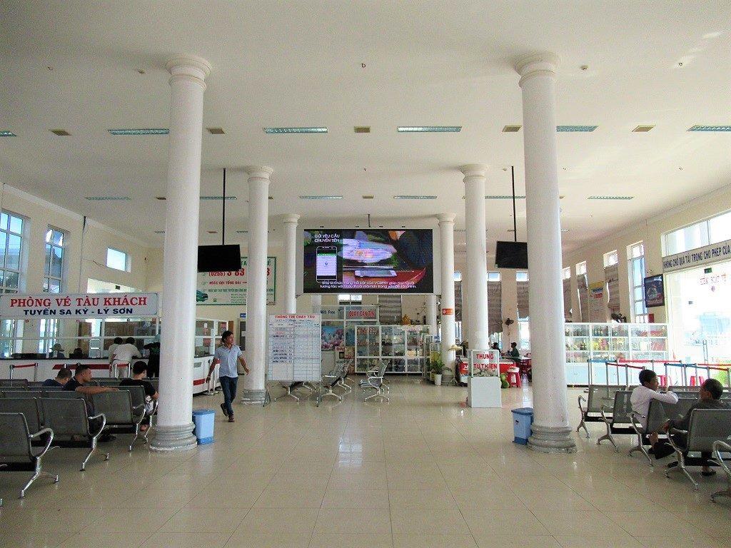 Sa Ky Port, passenger terminal, Vietnam