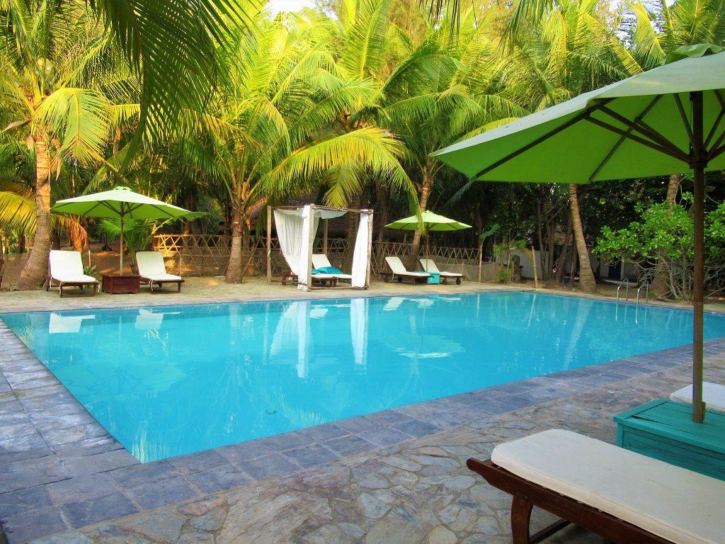 Swimming pool at Le Domaine de Tam Hai Resort, Vietnam