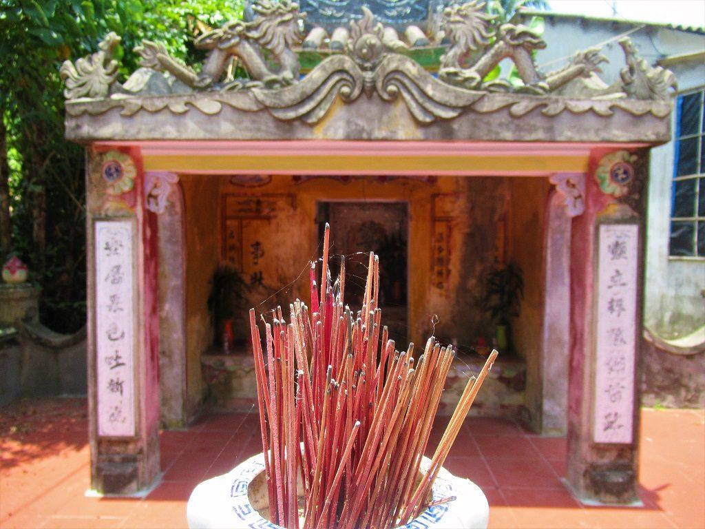 Small shrine, Tam Hai Island, Quang Nam Province, Vietnam