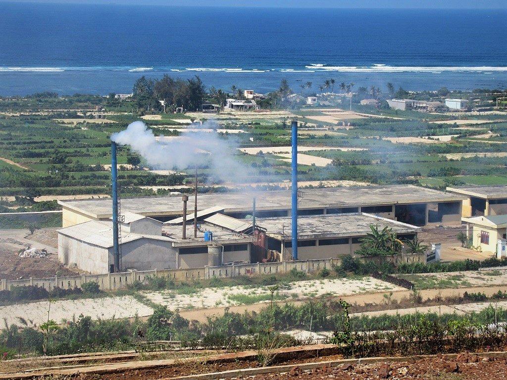 Trash incinerator, Ly Son Island, Vietnam