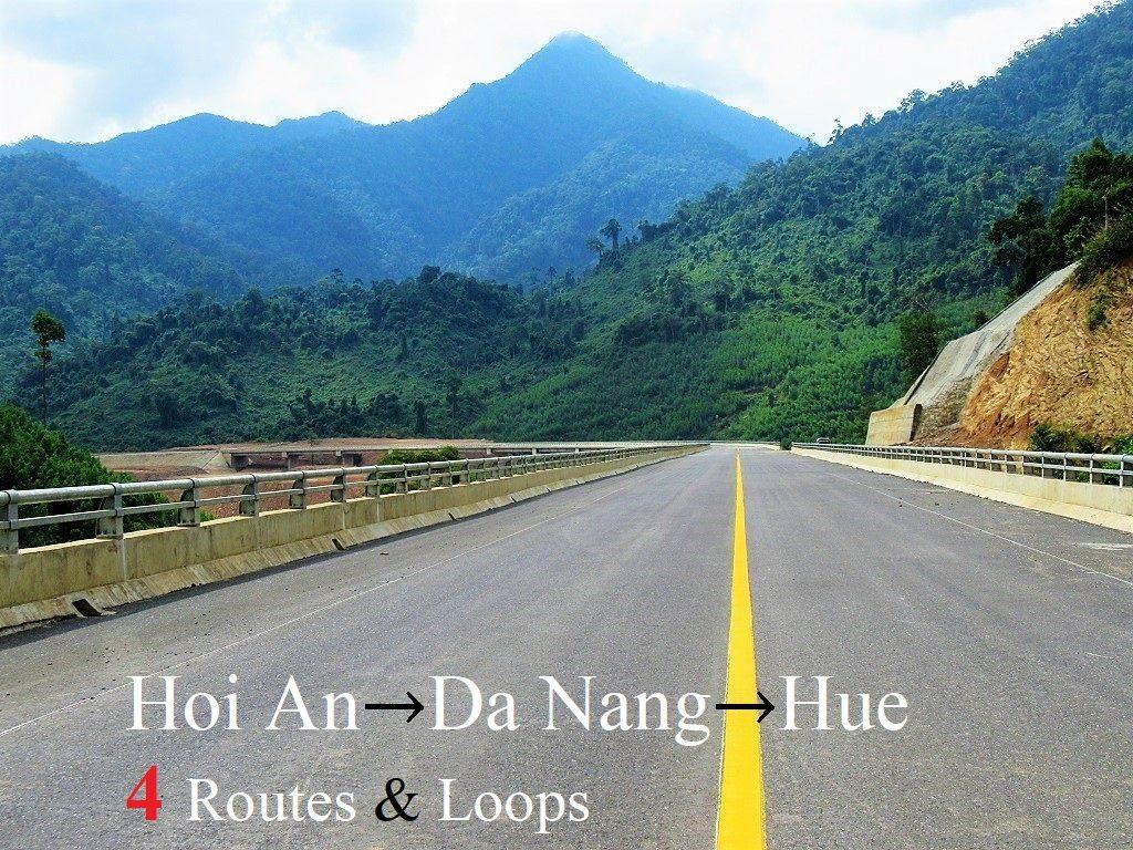 Hoi An-Danang-Hue: 4 Motorbike Routes & Loops