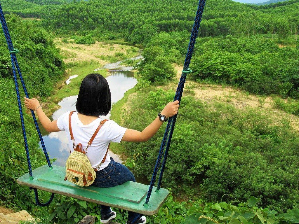 Nature Swing, Bong Lai Vally, Phong Nha
