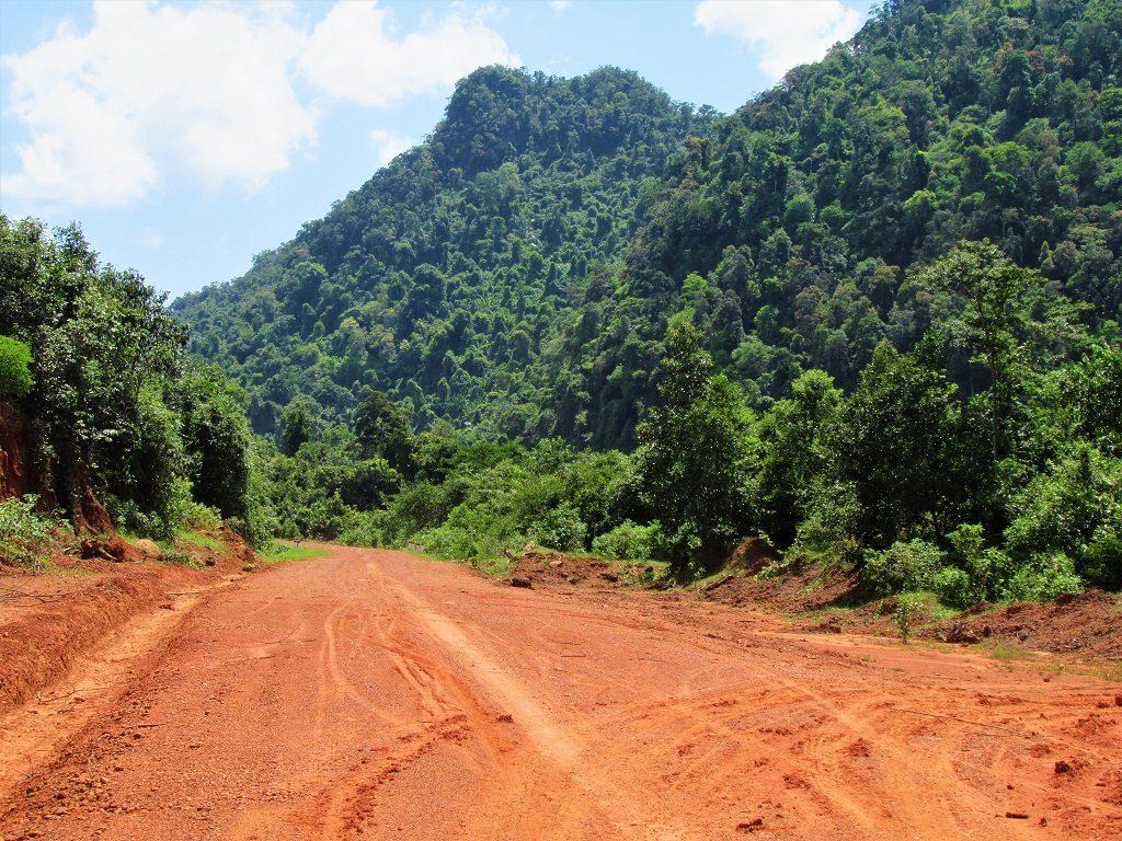 Off-road track, Quang Binh, Vietnam