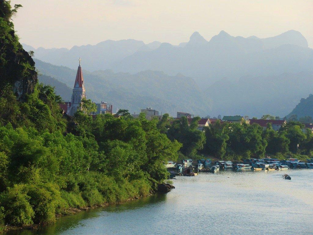 Phong Nha village, Vietnam