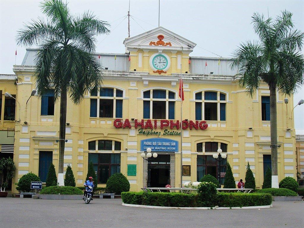 Hai Phong Railway Station, Vietnam
