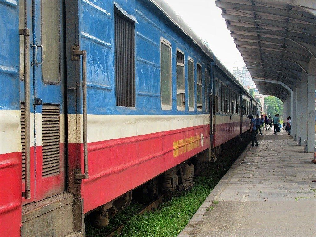 The Hanoi-Ha Long City train, Vietnam
