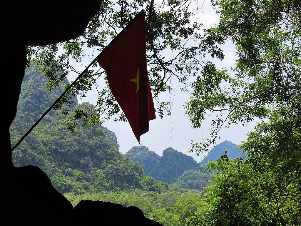 Cat Ba Island, outside Hospital Cave, Vietnam