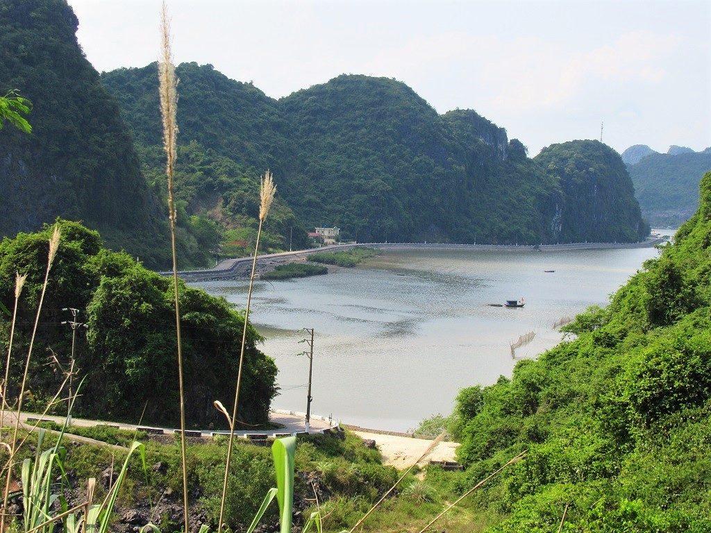 Gia Lam hamlet & port, Cat Ba Island, Vietnam
