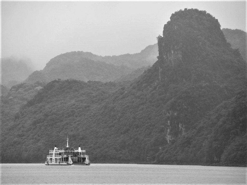 The Tuan Chau-Cat Ba Island ferry, Vietnam
