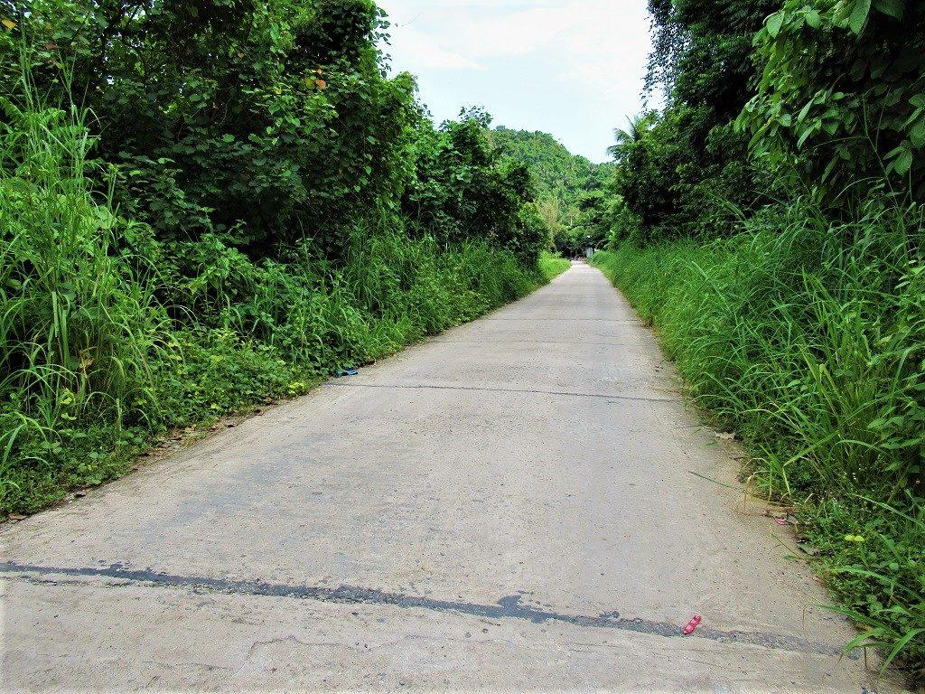 Walking or riding around the island's quiet roads, Pirate Island, Dao Hai Tac, Vietnam