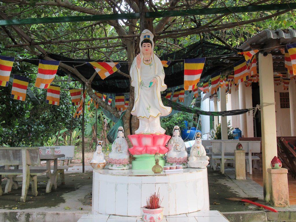 Son Hoa Tu temple, Pirate Island, Hai Tac Archipelago, Vietnam