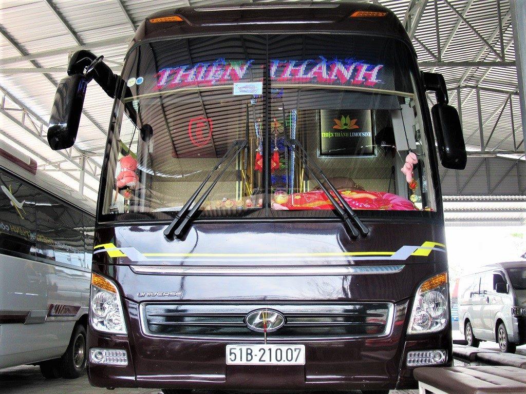 Thien Thanh Limousine (VIP) bus, Vietnam