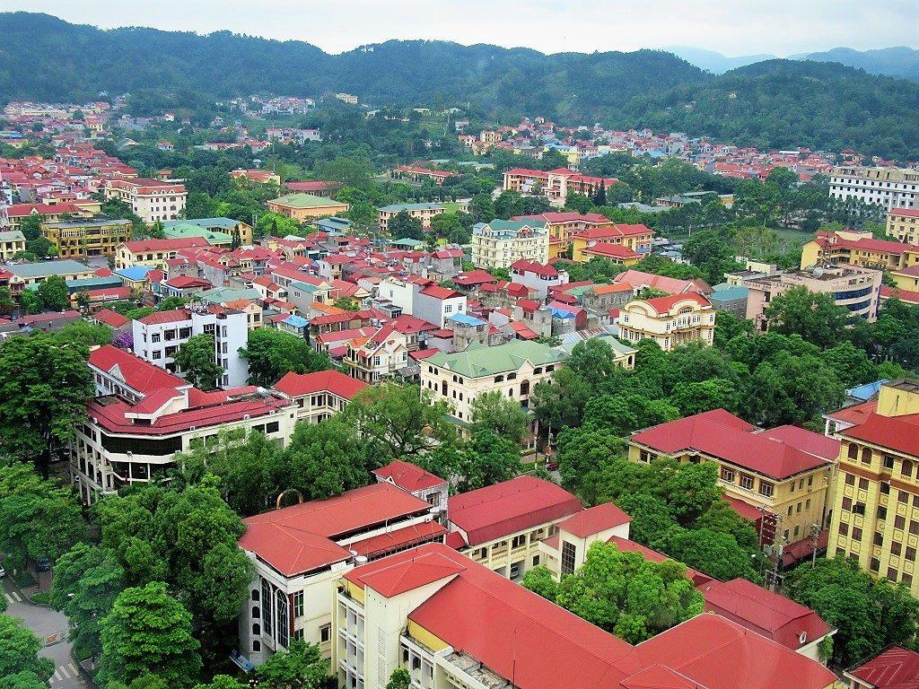 A view of Lang Son, northeast Vietnam