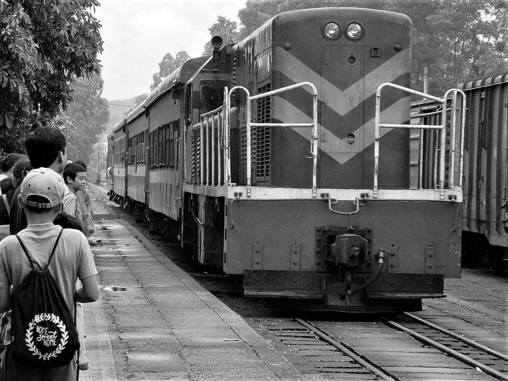The Hanoi-Lang Son-Dong Dang train, Vietnam