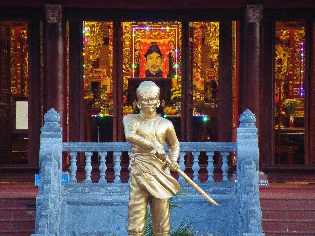 Nguyen Trung Truc Temple, Ganh Dau Village , Phu Quoc Island, Vietnam