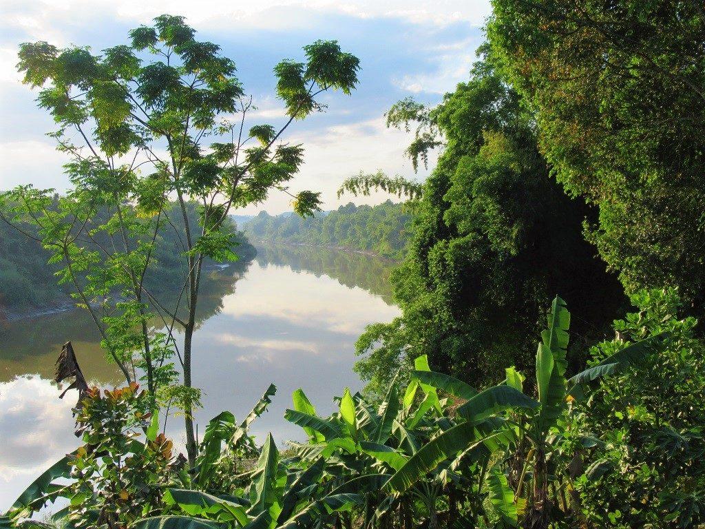The Dong Nai River, near Cat Tien Village, Vietnam